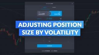 Average True Range Indicator (ATR) | Adjusting Position Size by Volatility