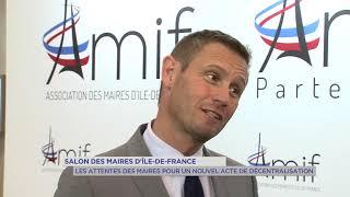 Yvelines | Salon des maires d'Île-de-France : Les attentes pour un nouvel acte de décentralisation