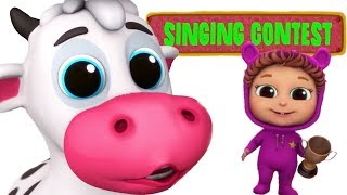 Moo Cow | Animal Sounds | Educational