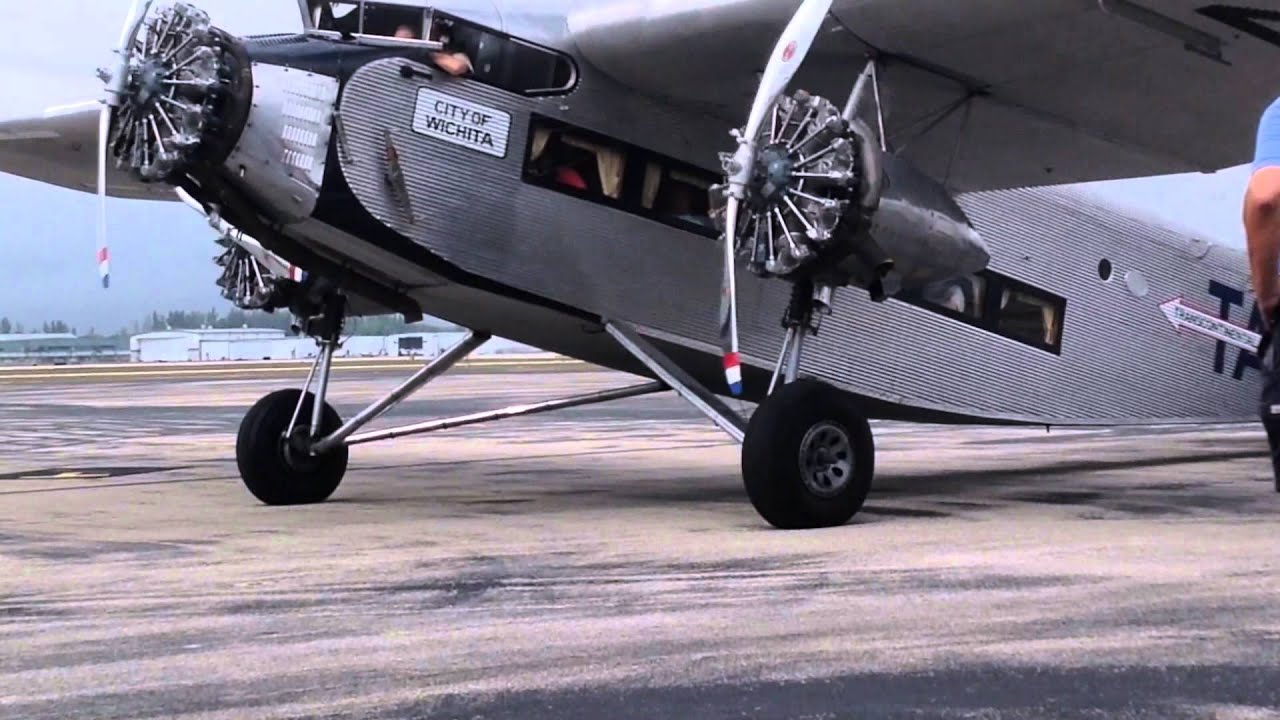 Ford Trimotor Naples 2015 Youtube
