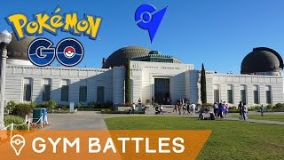 BATTLING GYMS IN POKÉMON GO