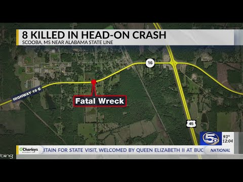 Pray for This County,' Sheriff Says After 2 Wrecks Kill 11