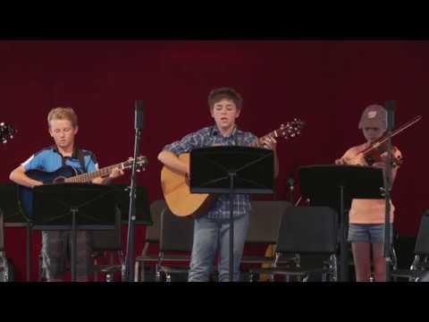 2017 CBMF Bluegrass Kids Camp Performance
