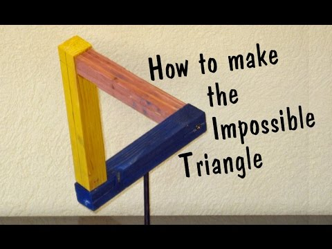 Impossible Triangle // How To - Pallet Upcycle Challenge 2016