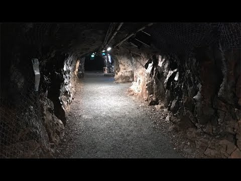 Underground Hard Rock Mine Tour Of Vale Chasm In Sudbury, Ontario, Canada