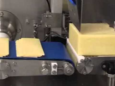 newtech - in-line slicing of block cheddar cheese