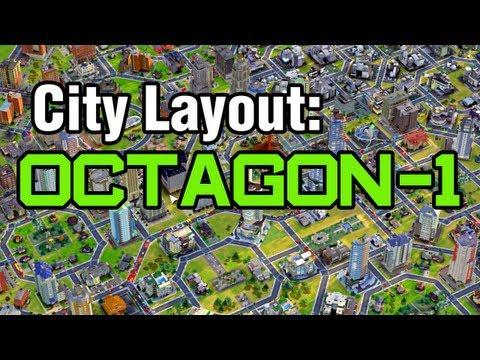 City Layout - Octagon 1 (Simcity)
