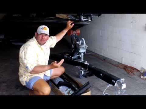 How To Install the Easy Step System on Bass Boat Trailer