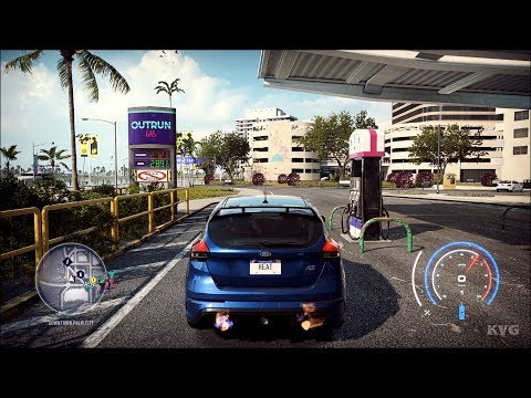 Need For Speed Heat - Ford Focus RS 2016 - Open World Free Roam Gameplay (PC HD) [1080p60FPS]