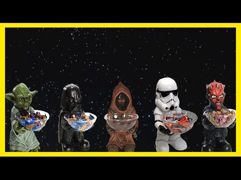Breaking News | Add a galactic flair to halloween with these 'star wars' candy dishes