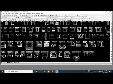 How To Download And Add Furniture And Other Cad Block In Auto Cad Draw    CIVIL ENGINEERING SOLUTION