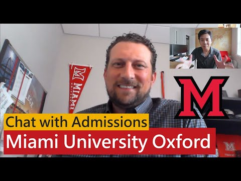 Chat With Admissions: 5 Reasons You Should Apply To MIAMI UNIVERSITY