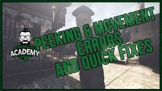 CSGO Peeking & Movement Errors and Quick Fixes