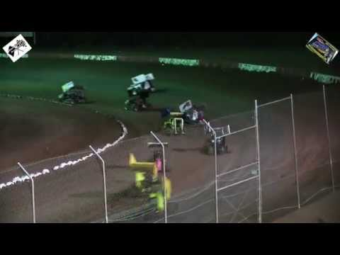 Canyon Speedway Park - Mini Sprint Main January 24th 2015