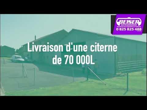 Citerne à Azote de 70000 litres Callet