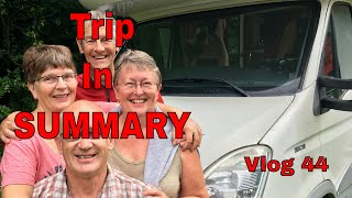 Europe by Mororhome Vlog 44  Summary