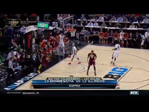 Minnesota vs. Illinois - 2016 Big Ten Men
