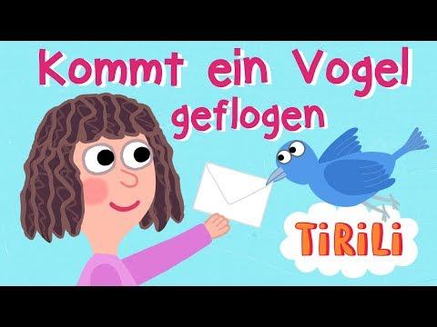 Kommt Ein Vogel Geflogen   TiRiLi - Kinderlieder Zum Mitsingen