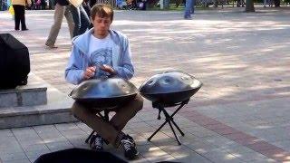 Hang Drum - новый музыкальный инструмент. Концерт для всех с добровольной оплатой.