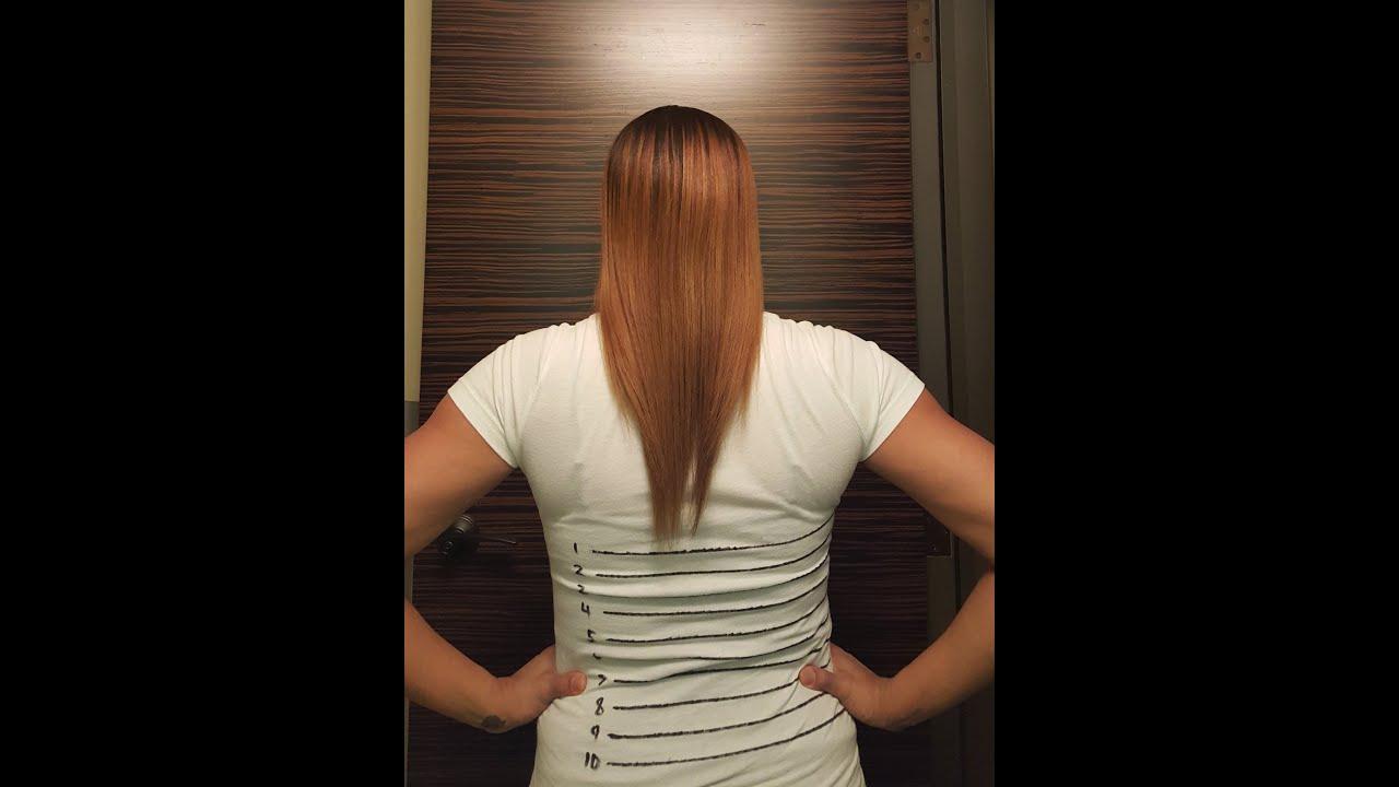 waist length hair growth challenge