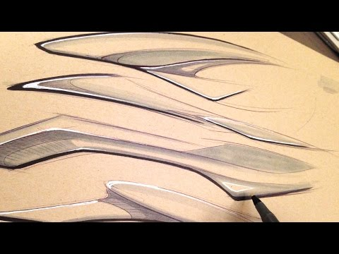 industrial-design-sketching-speed-forms