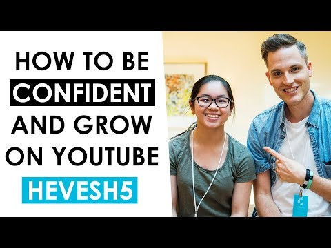 Thumbnail: How to Be More Confident on YouTube and Grow a Channel — Hevesh5 Dominoes Interview