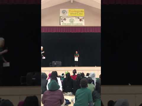 Acorn Woodland Elementary School - 5th grade - Oratorical 2020 - Emily