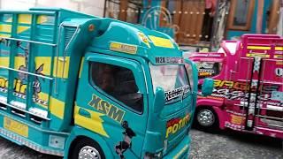 Download Video Mniatur truk jaya Dipa Malang keren hijau Tosca MP3 3GP MP4