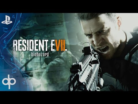 Resident Evil 7 Not a Hero Gameplay Español Parte 1 y Final (DLC Completo) | Chris Redfield 1080p