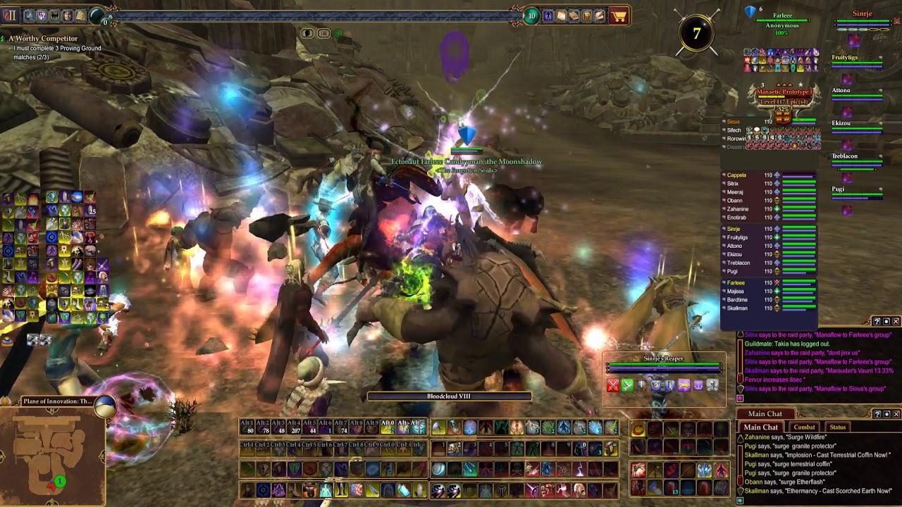 EverQuest II Forgotten Souls PoP Raid 12 23 2017