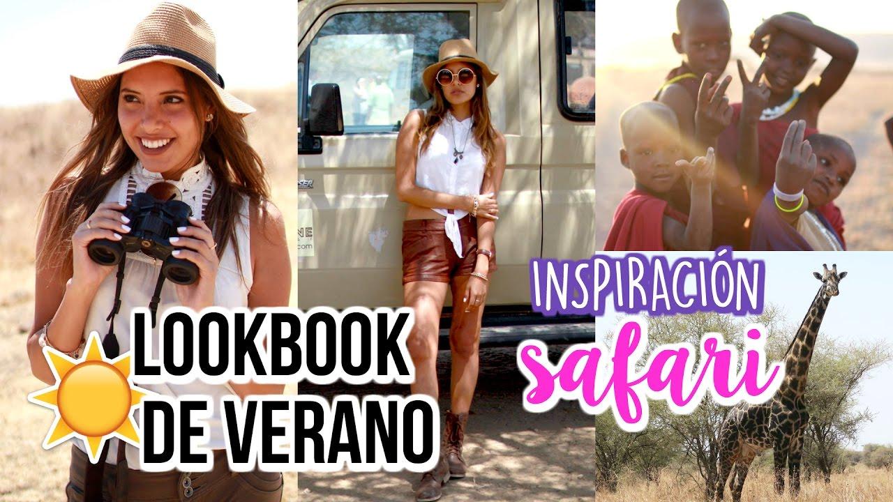 3 OUTFITS INSPIRADOS EN SAFARI | Valeria Basurco