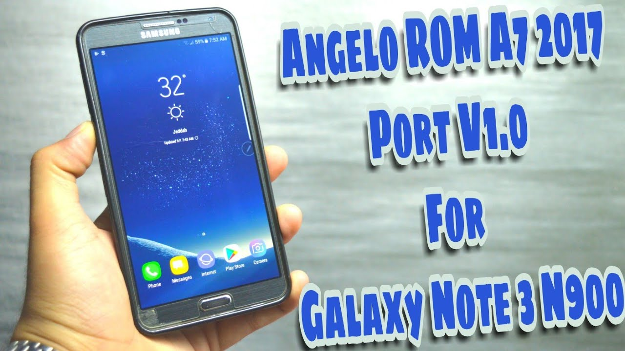 6 0 1] Angelo Rom A7 2017 Port V1 0 | Samsung Galaxy Note 3