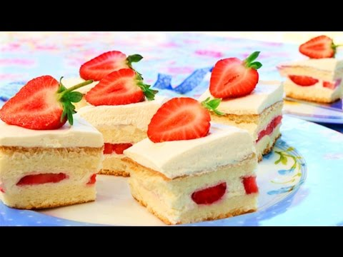 Japanese Strawberry Shortcake Recipe | How It's Made