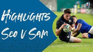 HIGHLIGHTS: Scotland v Samoa - Rugby World Cup 2019