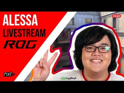 """ROG CS:GO Stream - Josias """"a l e s s a"""" Christian"""