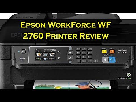 Epson WorkForce WF 2760 Printer Review