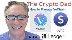 Managing VeChain With the VeChain Sync Wallet