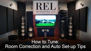 Rel Acoustics How To: Room Correction and Auto Set-up Software Tips
