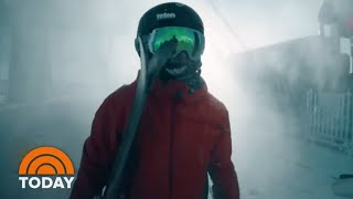 Meet The Skiing Prodigy Taking On The World's Steepest Slopes | TODAY