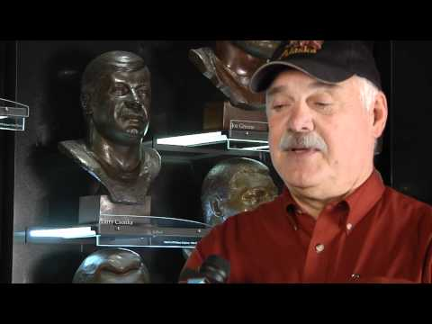 Larry Csonka makes a surprise visit