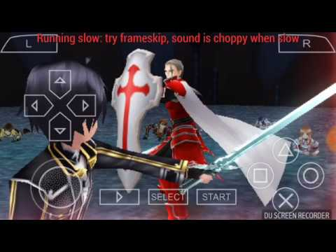 Game Sword Art Online Versi PPSSPP Android New - YouTube