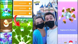 For the first time in over 1 year… POKÉMON GO IN DISNEYLAND!