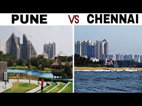 PUNE vs CHENNAI Full Comparison(2018)|Plenty Facts |Pune Oxford Of The East|Chennai -Detroit of Asia