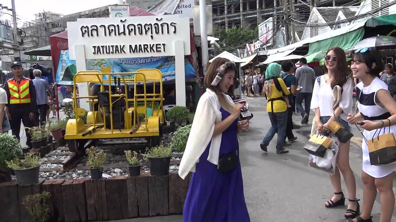 Pasar Chatuchak (Jatujak), Bangkok, Thailand.