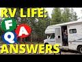 Viewer Questions Answered: Water Sources, RV Gadgets, Personal Question and More!