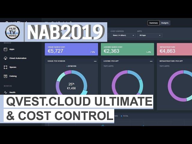 NAB2019: Qvest.Cloud Ultimate & Cost Control