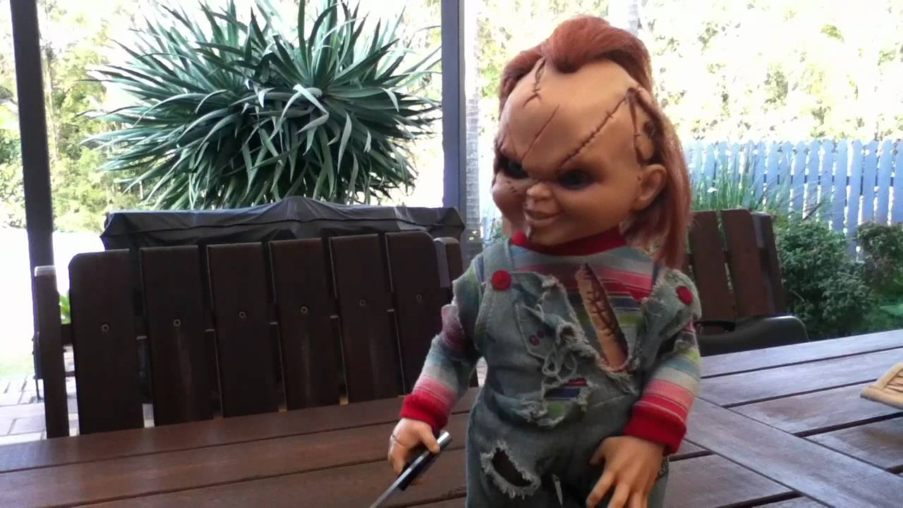 Dream Rush Chucky Doll Review! (Mikeyd6971) - YouTube