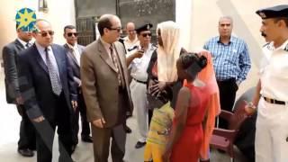 بالفيديو:أمن مطروح يوفر وسائل مواصلات لنقل 177 متسللًا لمحل إقامتهم