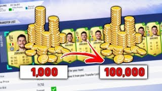 FIFA 19 MAKE 100K A DAY WITH THIS SNIPING FILTER - TRADING TO 1 MILLION COINS #13