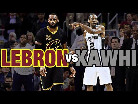 Kawhi Leonard & LeBron James Battle in Cleveland | 01.21.17